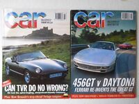 Vintage editions of CAR Magazine from 1993. 2 issues.