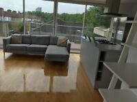 Amazing 2 Bed Penthouse, Available Now, Only 10 Min Walk to Canada Water Underground!