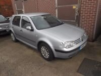 vw golf mk4 1.6 silver breaking for parts !!!