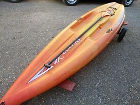 ocean kayak paddleboard