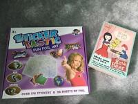 Craft sets stickers sewing