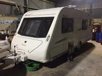 2008 6berth elddis avante CLUB fixed bunks