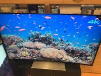 "Sony 55"" 4K curve Smart TV Android TV built in"