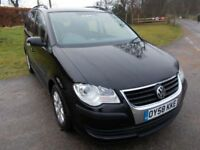 2008 58 VW TOURAN 1.9 TDI S 7 SEATER MPV CALL 07908275624