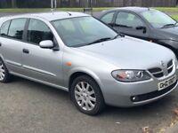 Silver 2004 Nissan Almera 1.5 petrol for sale