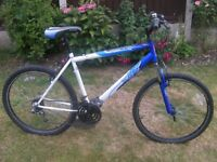 """Gents Apollo XC26 Front suspension Mountain Bike, 26"""" Quick release Alloy wheels 20"""" Frame, 18 gears"""