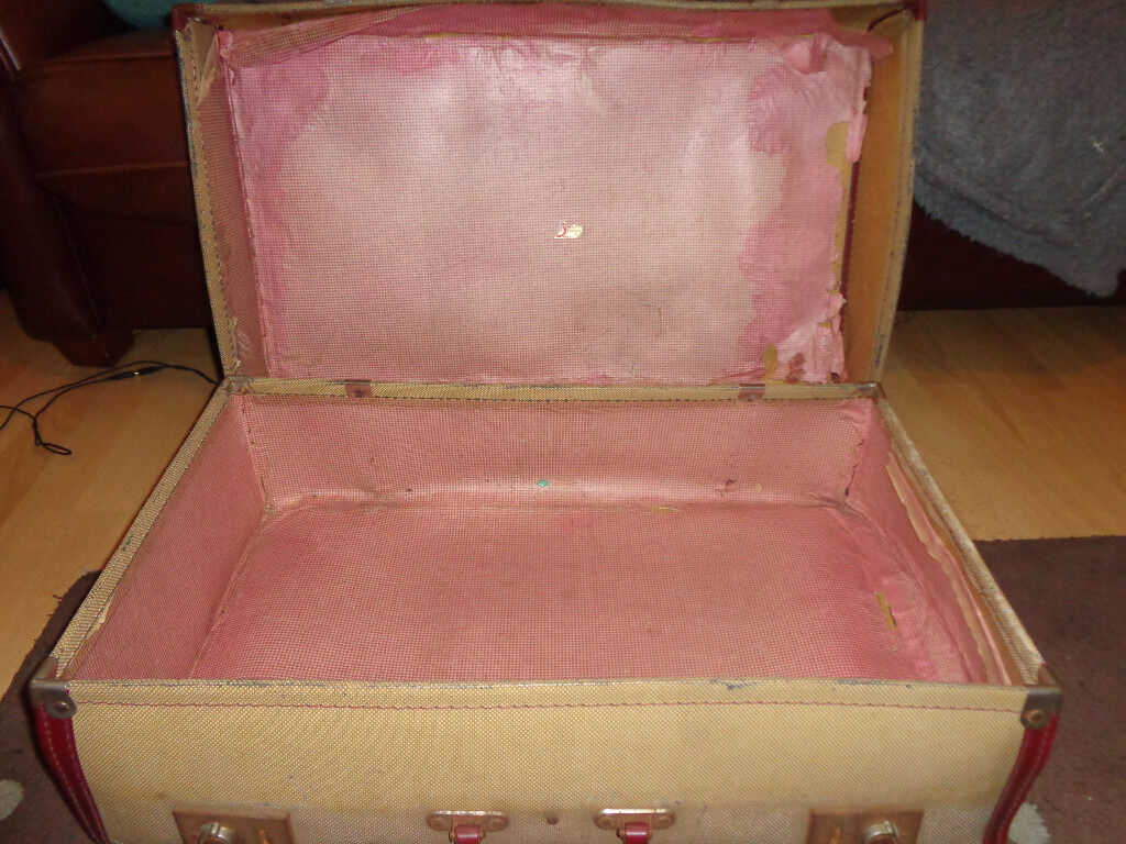 Shabby Chic Vintage Suitcase In Langley Mill