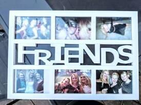 White Friends Frame