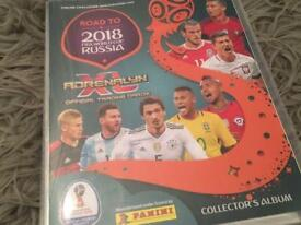 Fifa 2018 World Cup football cards