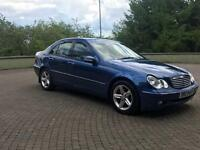 Mercedes C class 03 with 6 months PSV