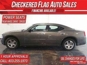 2009 Dodge Charger W/ ALLOY WHEELS-RWD-POWER SEATS-LOW KM