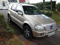Mercedes ML 270 CDi. (AMG). Spares or repair. Knackered engine. Otherwise outstanding condition.