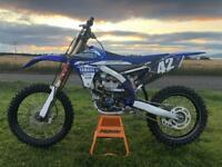 2017 Yamaha YZF 250 29 hours from new