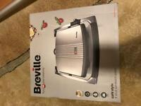 Breville Cafe Style sandwich press New in box unwanted gift originally £40
