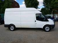 (( NO VAT )) FORD TRANSIT LWB 115, HIGH ROOF ,. 2011 on 61 PLATE , VGC IN AND OUT