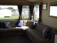 Three bedroom static at Cayton Bay