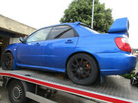WANTED!! Subaru Impreza STi 02-07 Non Runners,Blown Engine,Damaged,Spares,Repair,WRX, CASH Waiting