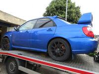 WANTED!! Subaru Impreza STi 02-2017 Spares Repair non runners Damaged WRX, CASH Waiting