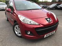 2010 peugeot 207 verve hdi 10- 1.4 diesel - £30/year road tax - 2 former keepers - rear sensors
