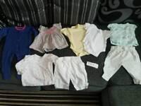Baby clothes babygrow vest top leggings set