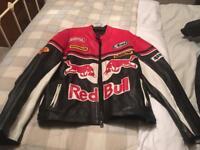 Redbull leather jacket