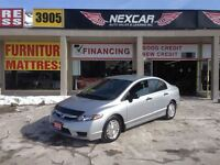 2010 Honda Civic DX-G 5 SPEED A/C CRUISE CONTROL ONLY 92K
