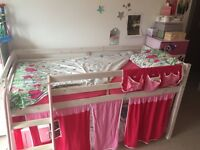 Children Room Furnitures: High Sleeper Bed, Armchair, Cabinet and Storage
