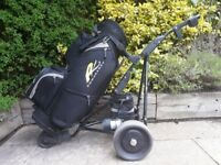 Powakaddy Electric Golf Freeway 18 hole - With Powakaddy Golf Bag Battery & Charger