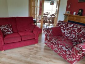 2 two seater sofas for sale