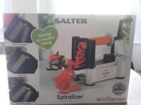Salter spiralizer - Still in box - never used