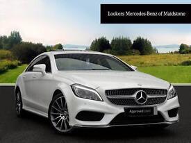 Mercedes-Benz CLS CLS350 BLUETEC AMG LINE PREMIUM PLUS (white) 2015-03-01
