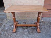 Solid Wood Top – Rectangular Bistro/Patio/Garden Table