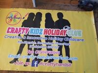 CRAFTY KIDZ HOLIDAY SCHEME