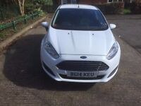 ford fiesta 2014 plate cat c recorded low milage facelift model clean car all round