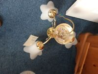 Brass Sittiing Room Lights