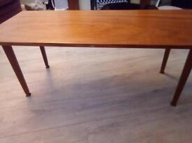 Old fashioned coffee table
