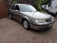 2005 SAAB 9-5 2.2 TID ESTATE LONG MOT AND SERVICE HISTORY CLEAN CAR THROUGHOUT GREAT ON FUEL
