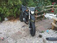 Generic 50cc motorbike new MOT new engine