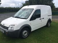 2006 TRANSIT CONNECT ONE OWNER FROM NEW 178544 KILOMETERS (110200 MILES) GOOD DRIVING VAN HIGH TOP