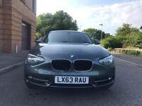 BMW 1 Series 1.6 116i Sport Start Stop Sat Nav 5dr Grey Part Ex Welcome
