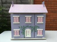 'Lavender Cottage' fully furnished wooden Dolls House