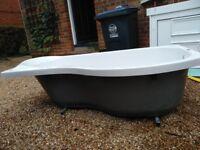 Carronite Bathtub & Curvetemp Bathscreen (RRP: £510.39)