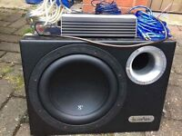 In Phase XTB 10 Subwoofer and Juice Amplifier