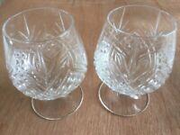 2 Brandy Glasses Perfect!