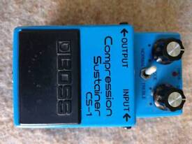 Boss cs1 compressor pedal