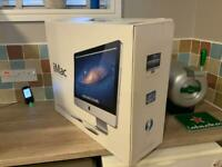 Apple iMac boxed with Apple mouse and keyboard