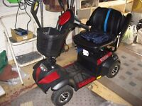 Nearly New Mobility Scooter (Drive Medical Envoy Class 2, Red Colour)