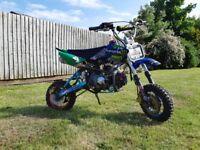 Cw 125cc pitbike crf50 frame runs great