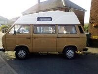 VW 4 Berth Campervan