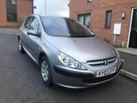 Peugeot 307 low millage diesel cheap to run